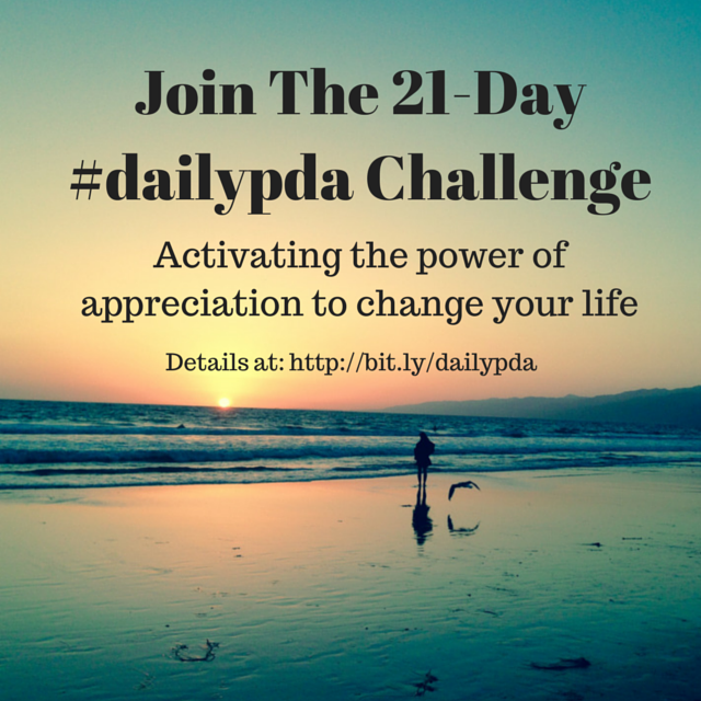 Join The 21-Day #dailypda Challenge